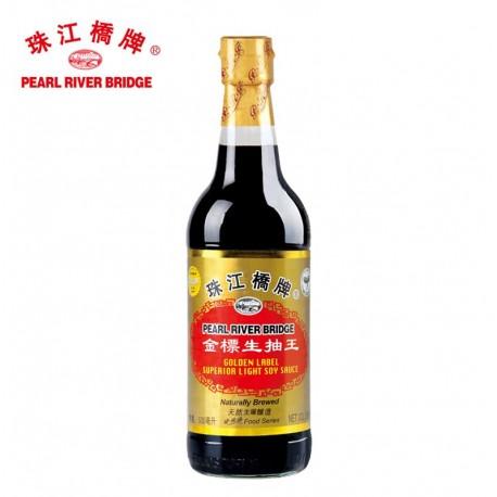 珠江桥牌 老抽王 500ml 酱油 调料