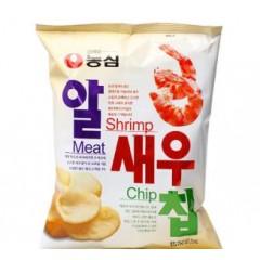 农心鲜虾味虾片虾条68g 韩国进口休闲零食品 膨化薯片大包实惠装