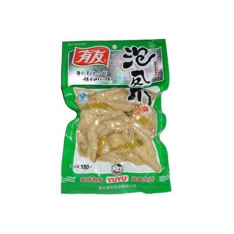 有友 泡椒凤爪100g 重庆特产 山椒凤爪鸡爪休闲零食